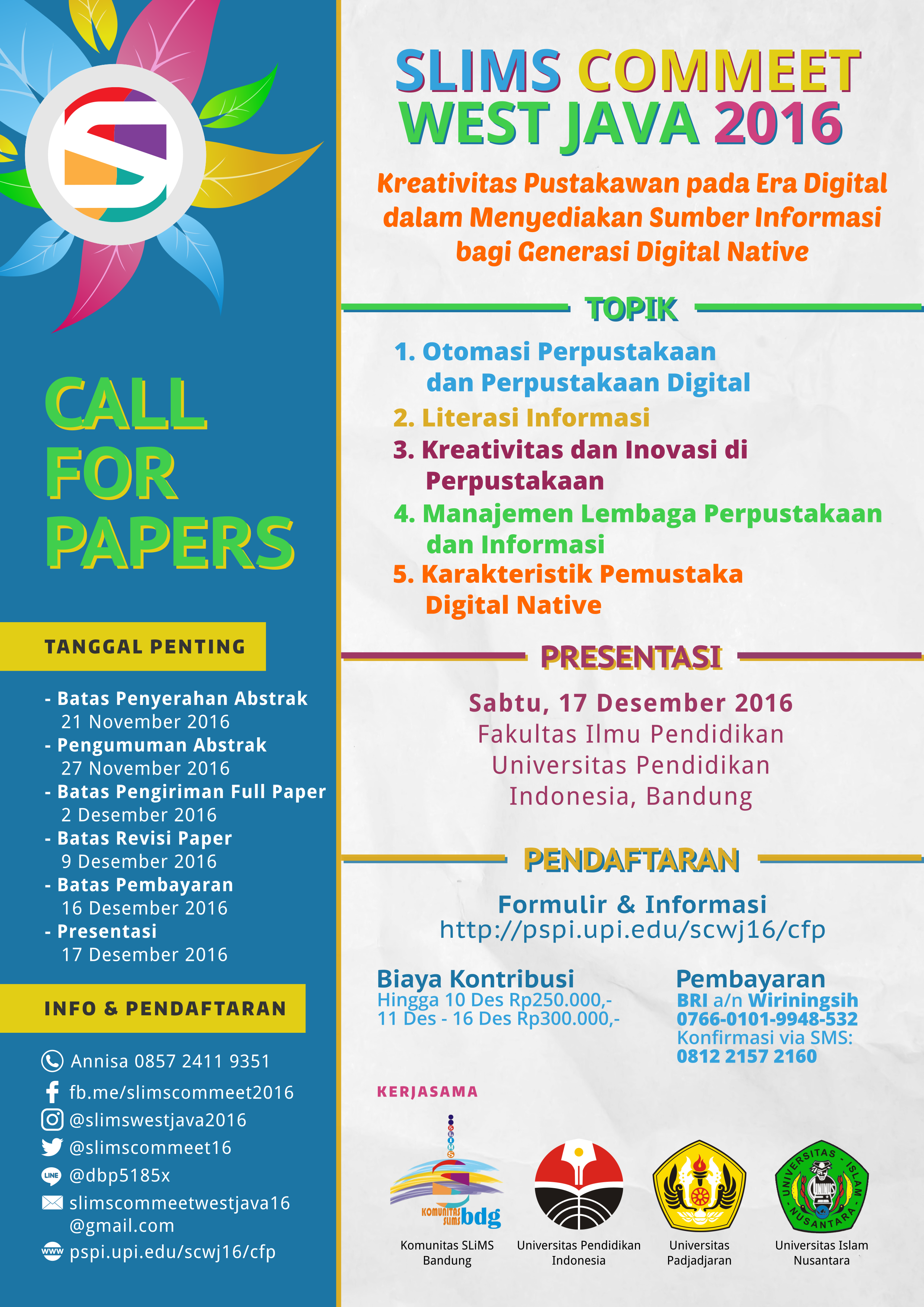 poster-call-for-papers-slims-commeet-west-java-2016-v6